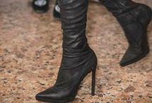 These Boots Were Made For Walkin' / I love me a fabulous pair of boots.  Enough said!