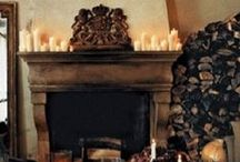 Fireplaces / by Melissa Coyle
