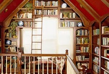 BOOKSHELVES & LIBRARIES / by Annelise Gabrielle