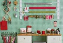 Organizing: Craft Supplies / How-To Information For Getting Your Craft Supplies Organized