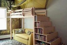 Organizing: Small Spaces / How To Organize Small Spaces - Tips, Products and Inspiration