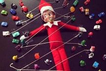 Holiday: Christmas - Elf on the Shelf Project / Fun ideas for our Elf on the Shelf this Christmas.    / by Thao Blanchard