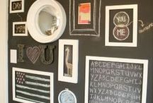 Organizing: Gallery Walls / How To Organize & Create Gallery Walls