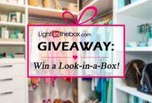 LightInTheBox Giveaways / by LightInTheBox