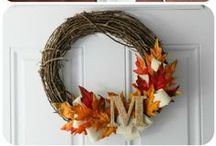 Fall / Crafts for the fall, Halloween costumes, decorations for the fall / by Jessica Faber