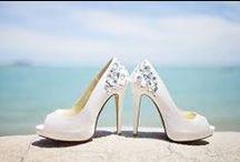 Wedding Shoes Inspiration / Wedding Shoes / by Karen Buckle Photography - Wedding & Portrait Photographer Noosa Beach & Destinations Worldwide