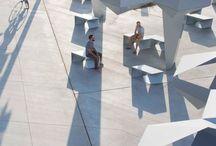 Urban furniture / architecture - landscape - urban - public spaces