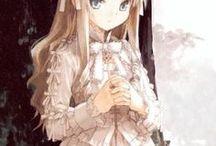 immagini manga e anime / illustrazione creativa manga e anime