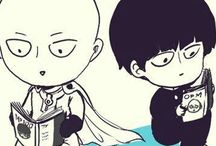 ONE sensei / One punch man and Mob Psyco 100:3