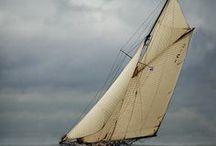 Voilier / Plus qu'un voile sur un bateau, c'est un ensemble harmonieux guidant vers l'aventure.