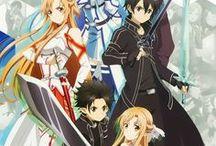 sword art online / Sword Art Online est un de mes manga animé préféré ! Si vous aimez tout ce qui est jeux virtuels, je vous conseille de regarder, c'est super !