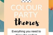 COLOUR THEMED PARTIES