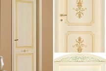 Italian doors / Italian doors lacquered and decorated by hand