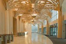 Потолки / Потолки дают самый обширный простор для фантазии архитектора