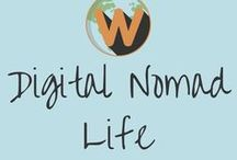 Digital Nomad Life / Read all about the digital nomad lifestyle, where to find remote work, how to become a digital nomad, where to live and work as a DN and more