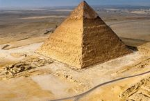 Between the pyramids and the sky