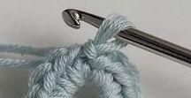 Häkelnadel + Wolle   crochet needle + wool