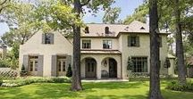 Traditional Tuscan Style / Stunning design and décor along with custom color RAM windows, gives this house a cozy European style feel.   Corbell Custom Homes