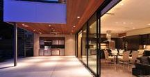 Modern Montrose Property / Contemporary style house in Montrose with beautiful multi-slide doors large floor to ceiling windows.   Modern Concept