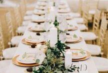 À mesa | Casamento / #casamento #wedding #mesa #table #tableset #decoracao #decoration #decoracaodemesa #eat #comer