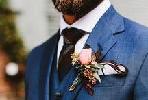 O estilo do noivo | Casamento / #groom #groomattire #noivo