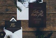 Estacionário | Casamento / #papergoods #stationary #estacionário #convites