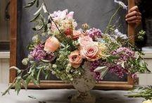 Arranjos Florais | Casamento / #wedding #casamento #festa #party #celebration #flowers #flores