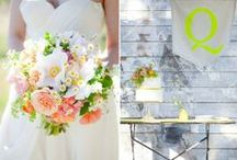 a wedding love story. / Wedding inspiration and decor of all kinds / by Wit & Whimsy Events and Design