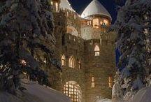 Architecture & Design: Castles / Castles, Châteaus, Palaces / by Vonnie Davis