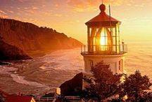 Art: Architecture & Design: Lighthouses / by Vonnie Davis