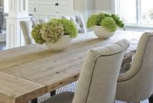 Dine in Style / The dining room is a place for entertaining friends and family, a place to gather together, eat and share your lives. Let Sheely's help you keep it stylish and comfortable!