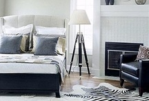 ReCreate the Room by Sheelys: Transitional Bedroom / We pulled this Transitional Bedroom look from Midwest Living to show you how you can recreate the look from Sheely's Furniture (www.sheelys.com). We wanted to give you some options on various pieces that you can get to achieve this look!