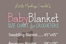 Charts / Crochet, sizes / by Melissa D