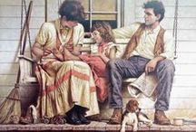 Art: Charming Children: Family Love / Family ~ Friends ~ Siblings / by Vonnie Davis