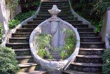 Art: Architecture & Design: Stairways ~ Steps / by Vonnie Davis