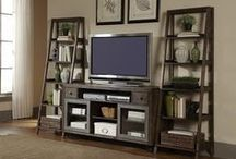 Entertainment Center Envy / Entertain friends and family in style! Let Sheely's be your guide in media center inspiration!