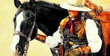 Art❤Southwest♡West❤Cowboys♡Cowgirls