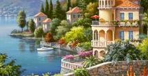 Charming Waterfronts ❤♡❤