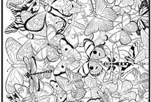 All About Fun: Coloring Pages / by Vonnie Davis