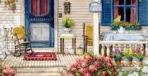 Charming Porches ❤♡❤