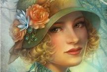 Charming Portraits❤Hats ❤♡❤