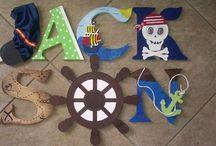 """Custom Wooden Letters by Kid Murals by Dana / Custom Wooden Letters can be made to """"match"""" any bedroom theme, nursey theme, classroom theme, and much more.  They are $10-$12per letter. Check them out and order on FB or by email: kidmuralsbydana@gmail.com  http://www.facebook.com/kidmuralsbydanarailey www.scottsdalemurals.com"""