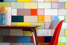 Candy-Coated Colorful Kitchens / Smeg fridges, cheery cabinets, and the like. / by Nicole Balch
