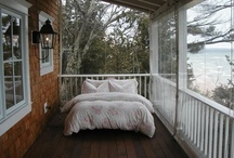 Sleeping Porches (screened-in) / by Joni Peterson