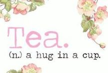Tea Quotes / clever quotes featuring our favorite beverage