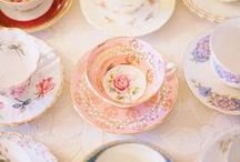 Tea Cups / Whimsical, vintage, collectible...who doesn't love tea cups?