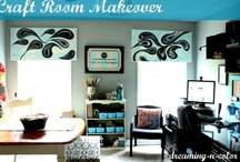 craft rooms / by dreaming-n-color