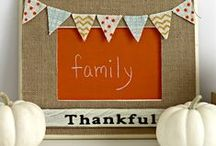 Thanksgiving  //  The Craftng Chicks / Thanksgiving food, crafts, and decor!  / by The Crafting Chicks