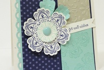 Cards-SU Mixed Bunch Punch and Stamp Set / by Denette Stoll