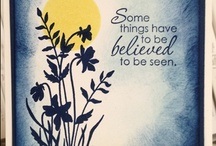 Cards-SU Just Believe / by Denette Stoll